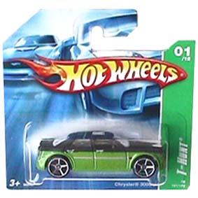 Coleção Hot Wheels linha 2008 Chrysler 300C T-Hunt Series 161 (HW raro) M6967