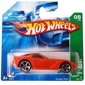 Coleção Hot Wheels linha 2008 Dodge Viper T-Hunt Series 168 M6974