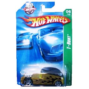 Coleção Hot Wheels linha 2008 Qombee T-Hunt Series 166 (Cartela Gde) M6972