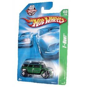 Coleção Hot Wheels linha 2008 Rockster T-Hunt Series 163 (HW Raridade) M6969