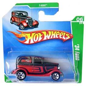 Coleção Hot Wheels linha 2009 34 Ford t hunt series 048 raridades hw p2356