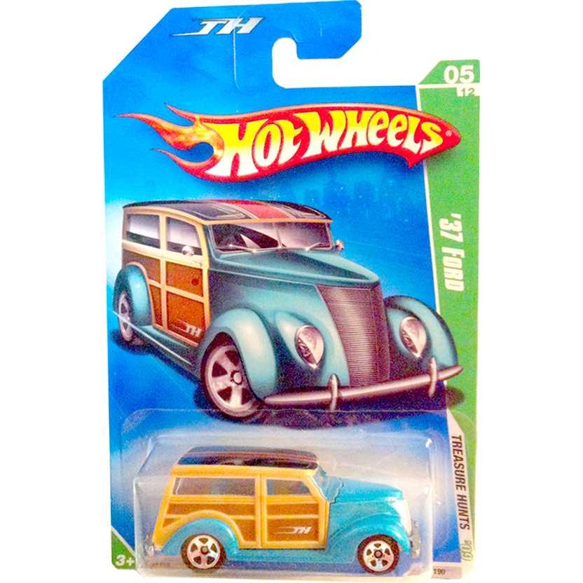 Coleção Hot Wheels linha 2009 37 Ford T-Hunt Series 047 (raridades HW) P2355