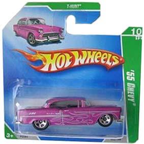 Coleção Hot Wheels linha 2009 55 Chevy T-Hunt Series 052 (HW Raros) P2360