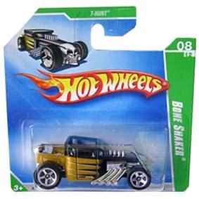 Coleção Hot Wheels linha 2009 Bone Snaker T-Hunt Series 050 (HW Raros) P2358