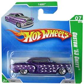 Coleção Hot Wheels linha 2009 Custom 53 Chevy T-Hunt Series 049 (raridade) P2357