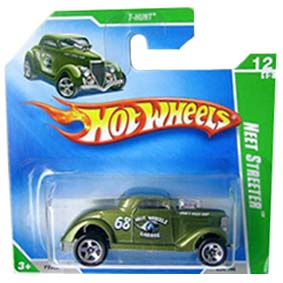 Coleção Hot Wheels linha 2009 Neet Streeter T-Hunt Series 054 (raridade) P2362