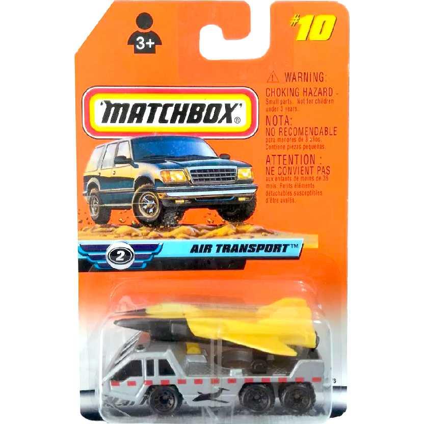 Coleção Matchbox 1999 Air Transport #10 36573 escala 1/64