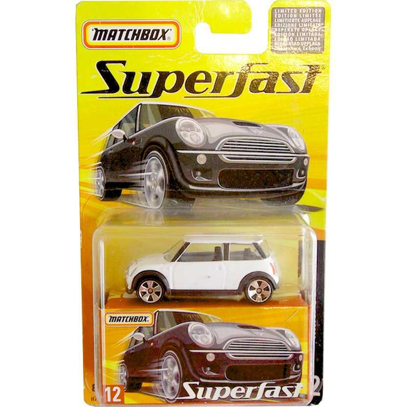 Coleção Matchbox Superfast 2005 Mini Cooper S #12 H7776 escala 1/64