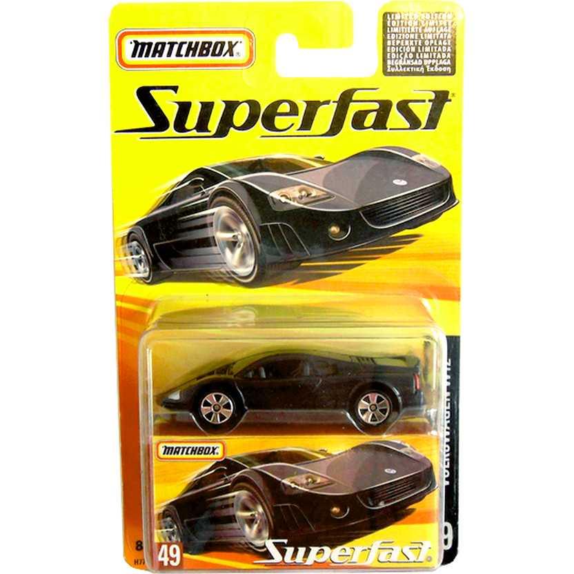 Coleção Matchbox Superfast 2005 Volkswagen W12 #49 H7775 escala 1/64