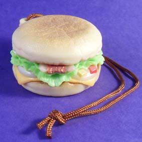 Coleção Mc Lanche Feliz 2011 Miniatura de Brinquedo Salad Marinade Muffin