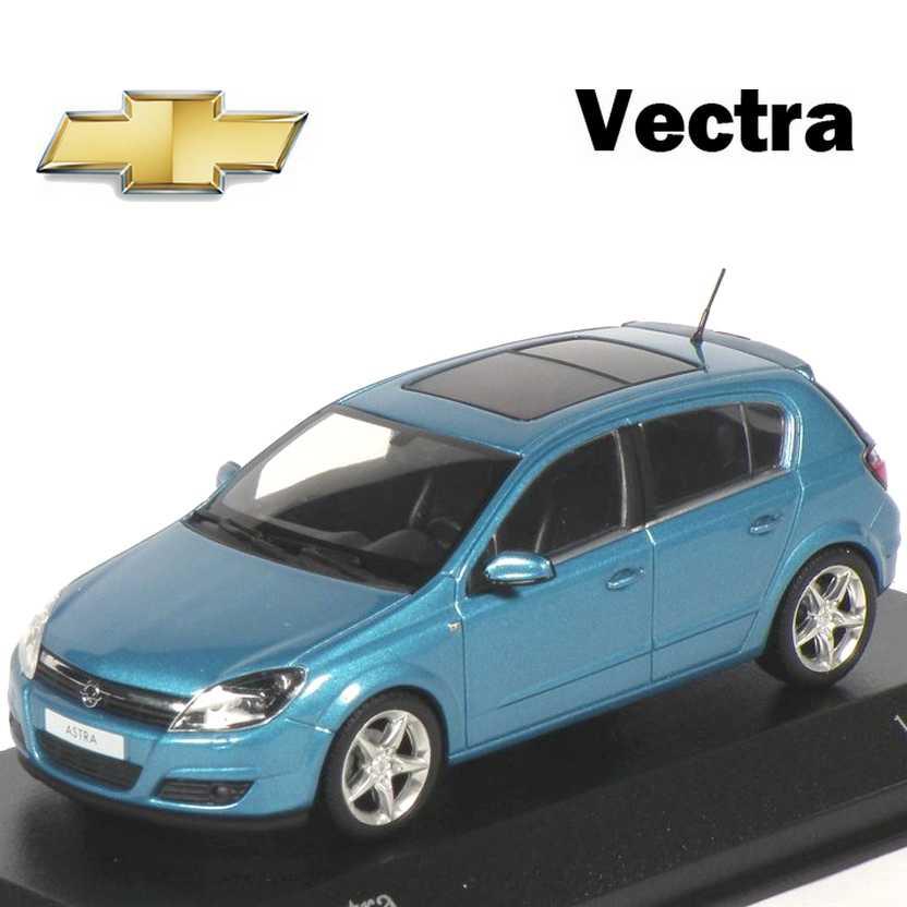 Coleção Minichamps carros inesquecíveis do Brasil Chevrolet Vectra GT Opel Astra (2004) 1/43