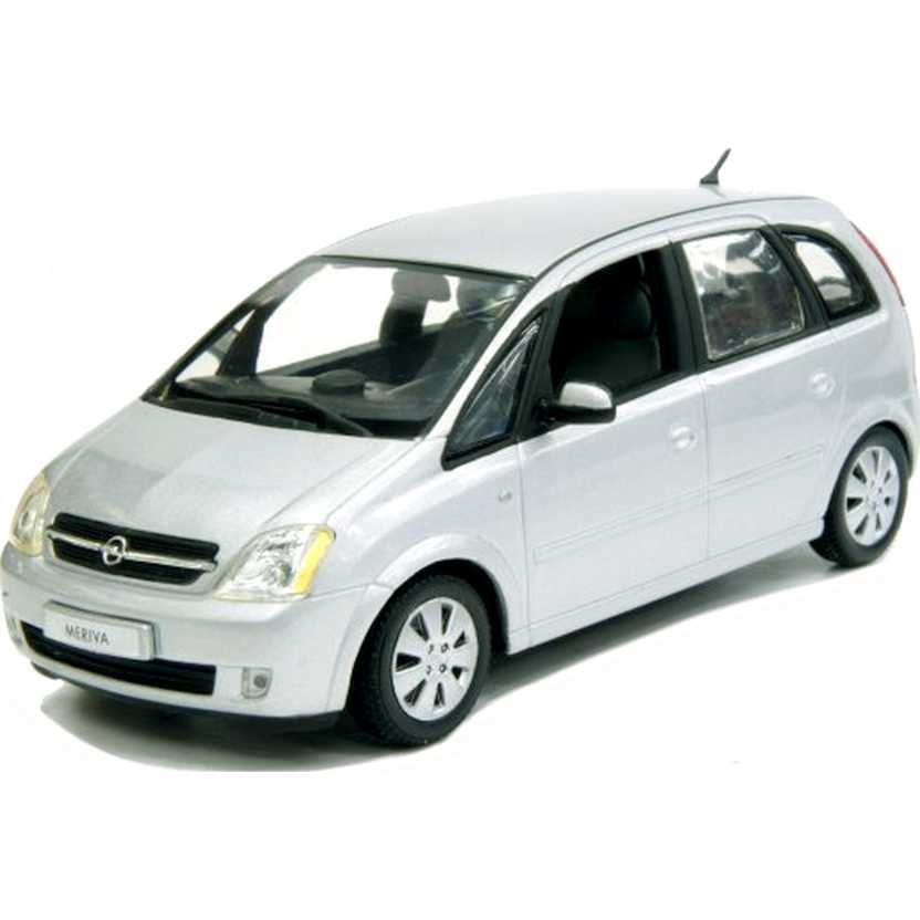 Coleção Minichamps carros inesquecíveis do Brasil Chevrolet/Opel Meriva prata (2003) 1/43