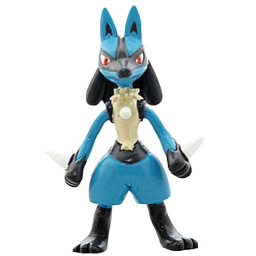 Coleção Pokemon Lucario MC-122 Lucario Monster Collection Takara / Tomy (aberto)