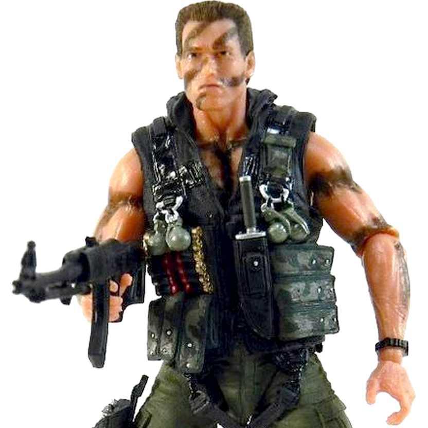 Comando para Matar John Matrix (Arnold Schwarzenegger) Neca Ultimate Action Figure
