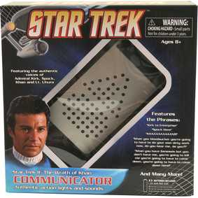 Comunicador Star Trek II A Ira de Khan (The Wrath of Khan TWOK) Communicator