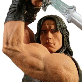 Conan The Barbarian Temple Of The Serpent ( Arnold Schwarzenegger )