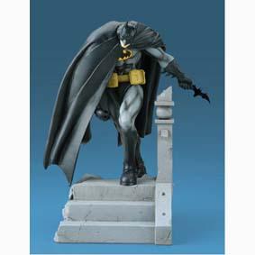 Conjunto do Batman Kia Asamiya - 4 bonecos da serie 1 (aberto)