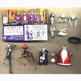 Conjunto Nightmare Before Christmas (6 pçs)