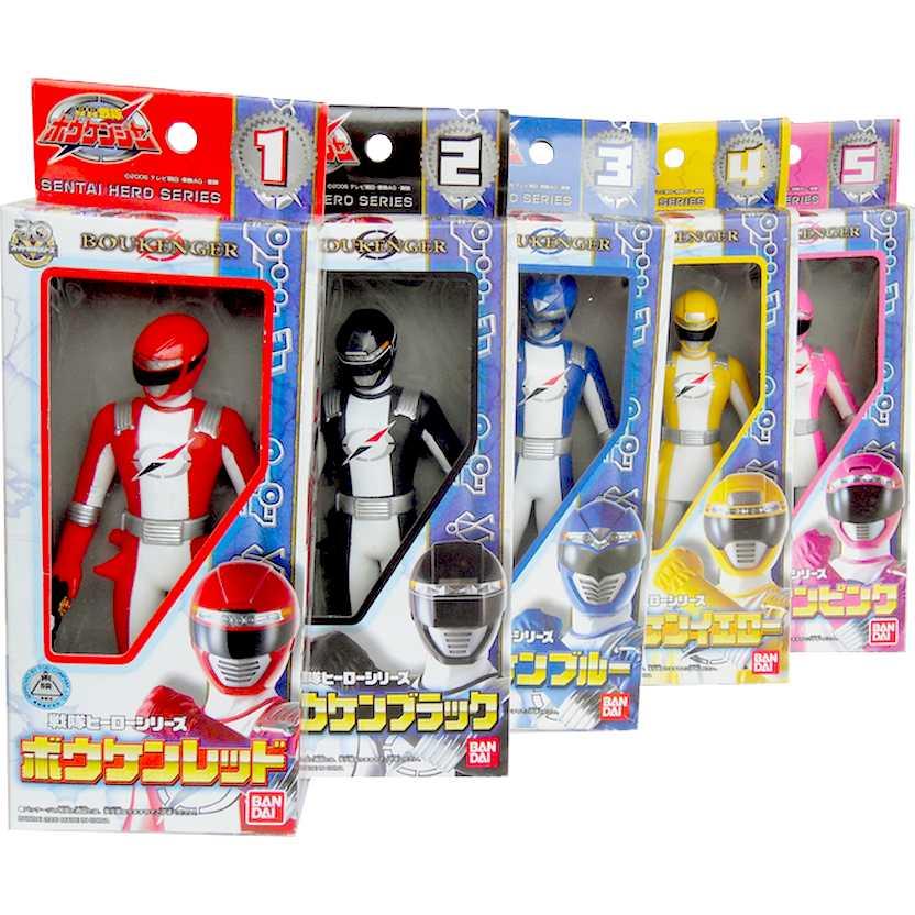 Conjunto Power Rangers Operation Overdrive - Gougou Sentai Boukenger - Bandai