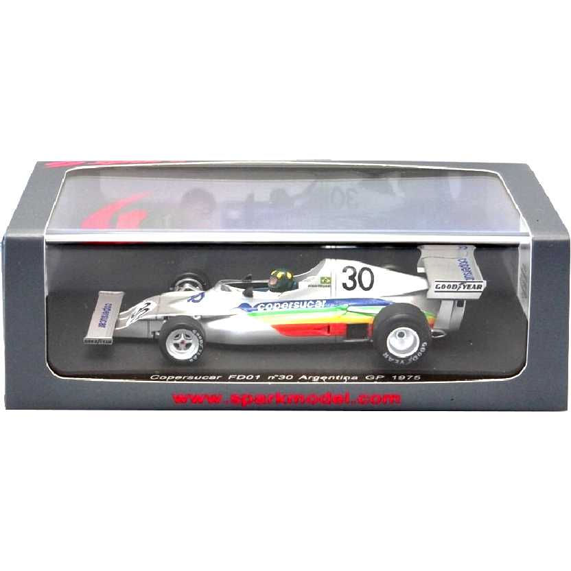 Copersucar FD01 Wilson Fittipaldi (1975) marca Spark escala 1/43
