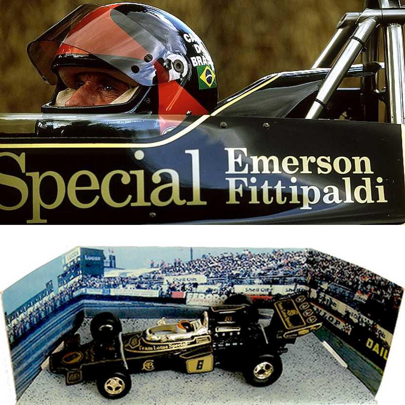 Corgi 97377 - Lotus 72D Emerson Fittipaldi (1972) Campeão do Mundo F1 escala 1/36 RARO