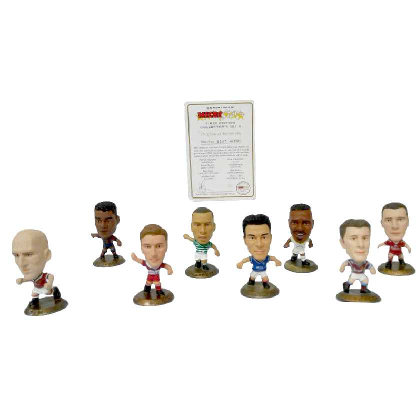 Corinthian Microstars Collectors Club Members exclusive set first edition set 4