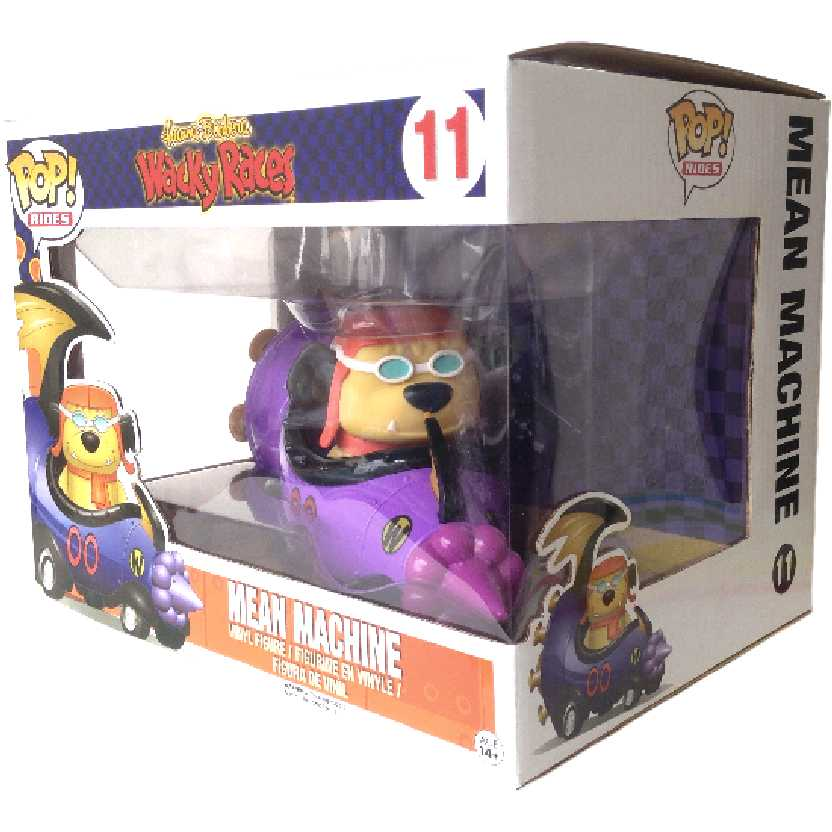 Corrida Maluca Muttley + A Máquina do Mal  / Mean Machine + Muttley Funko Pop! número 11
