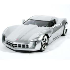 Corvette Stingray Concept (2009) similar Transformers 2 Sideswipe