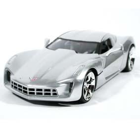 Corvette Stingray Concept (2009) similar Transformers 2 Sideswipe