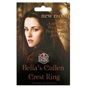 Crepúsculo 2 - Lua Nova - Anel da Bella Cullen