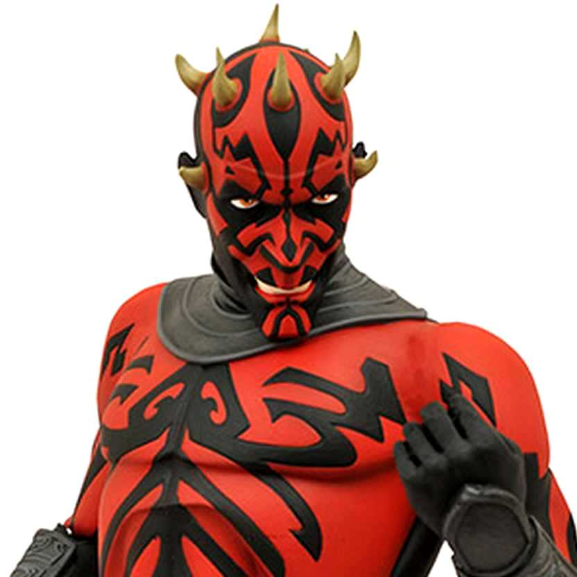 Darth Maul Bust Bank - Star Wars The Clone Wars - cofre do Darth Maul (Diamond Select Toys)