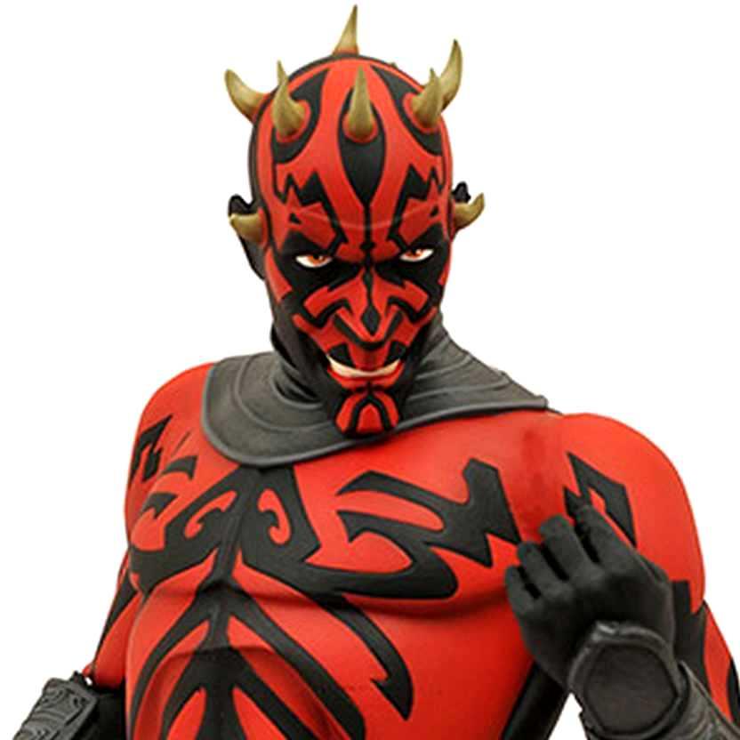 Darth Maul Bust Bank - Star Wars The Clone Wars - cofre do Darth Maul (Diamond Select Toys)