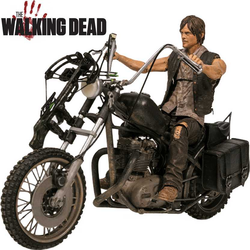 Daryl Dixon motorcycle figure - The Walking Dead series 5 - McFarlane action figure