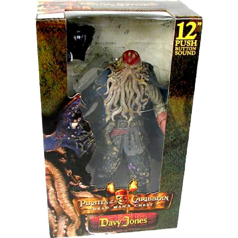 Davy Jones - Dead Mans Chest com som (médio) marca Neca action figures