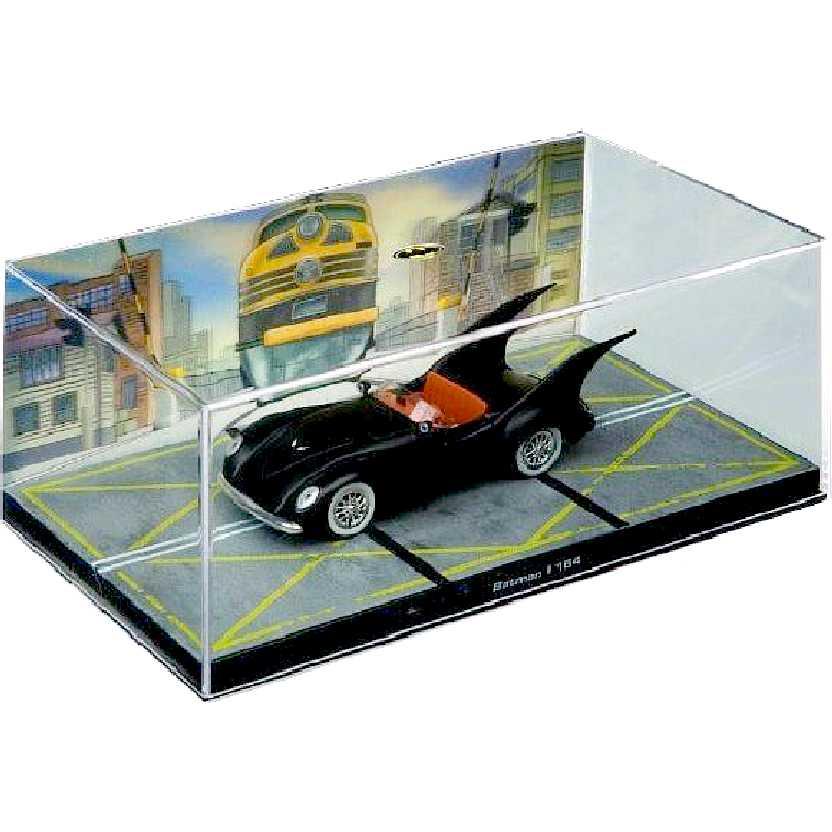 DC Batman Batmobile Automobilia #22 Eaglemoss Batman #164 c/ caixa de acrílico