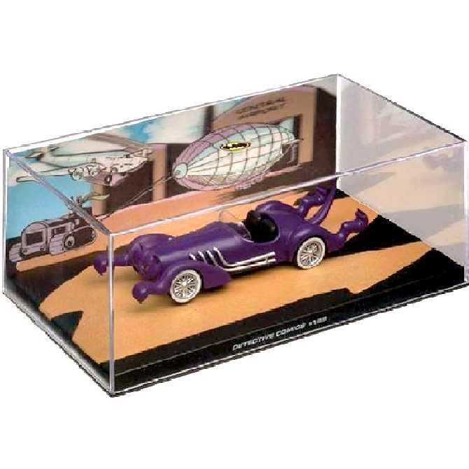 DC Batman Catmobile Automobilia #28 Eaglemoss Detective Comics #122