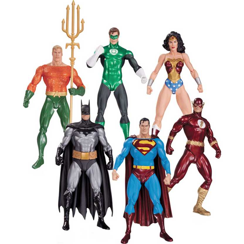 DC Collectibles Justice League (Liga da Justiça) Alex Ross Action Figures