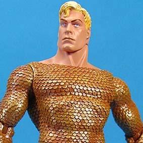 DC Direct Alex Ross Aquaman Action Figure Justice League series 2 (Liga da Justiça)