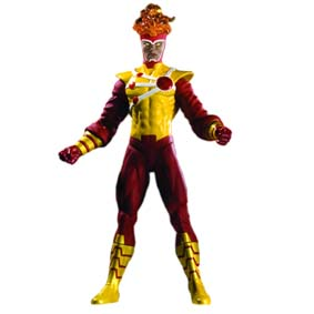 DC Direct Bonecos Brightest Day s2 / Boneco Tempestade Firestorm Action Figure