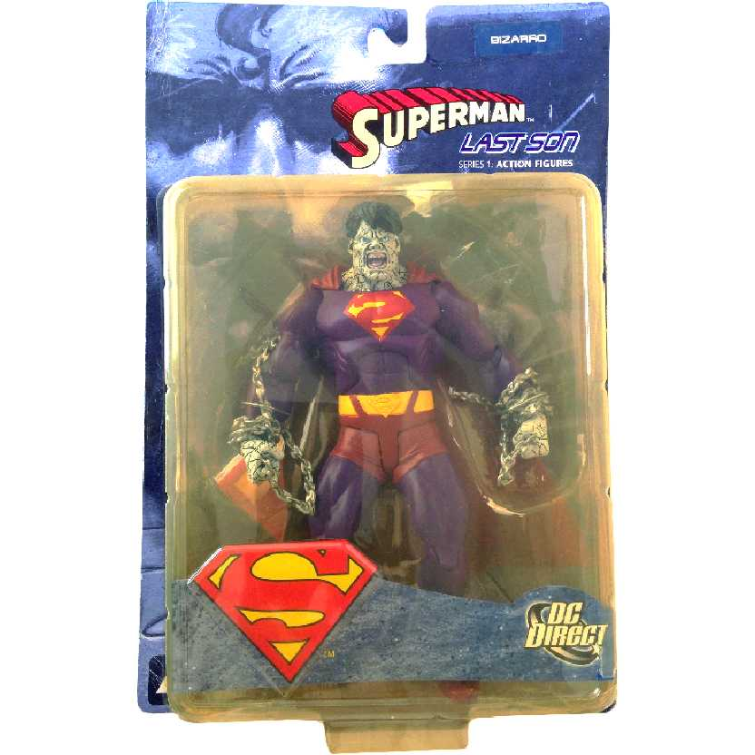 DC Direct Superman Last Son Bizarro series 1 action figures