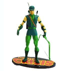 DC JLA Identity Crisis Green Arrow - Arqueiro Verde (aberto)
