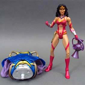 DC Universe Bonecos Mattel :: Star Sapphire : Wonder Woman Action Figure wave 17