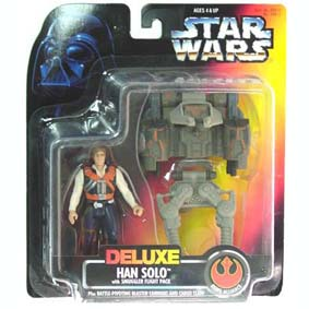 Deluxe Han Solo with smuggler flight pack
