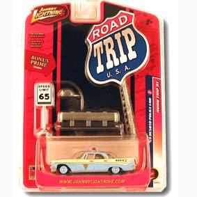 Desoto Police Car + diorama (1959)