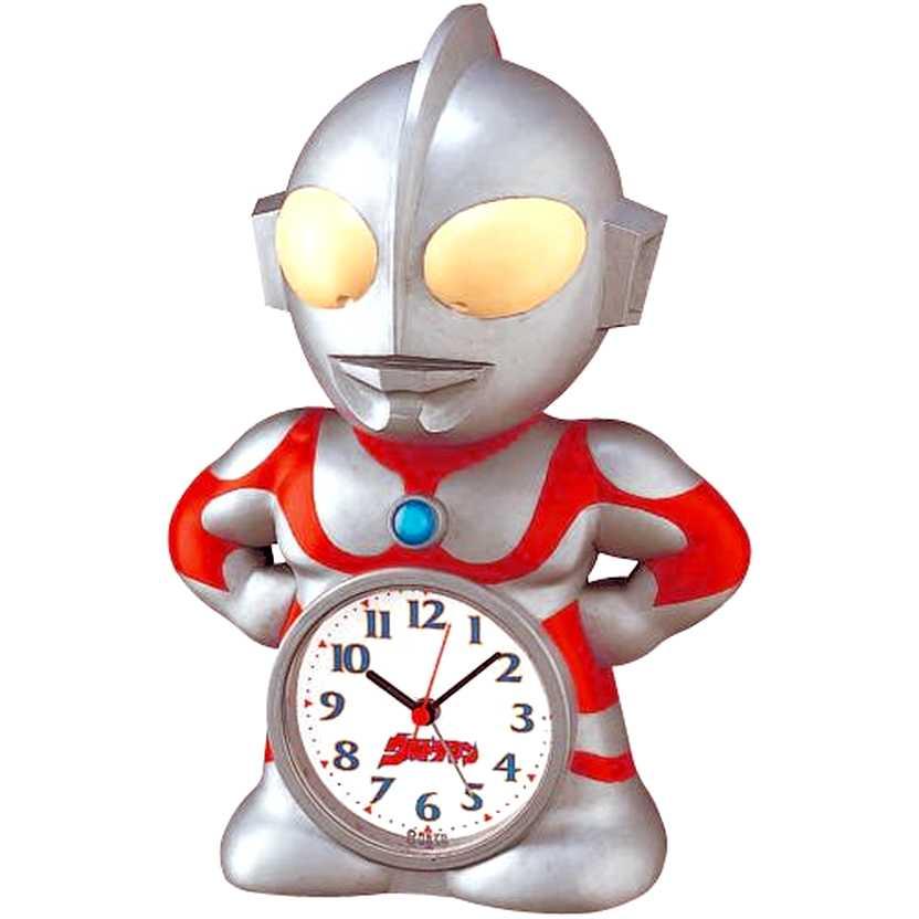 Despertador do Ultraman marca Seiko (alarm clock)