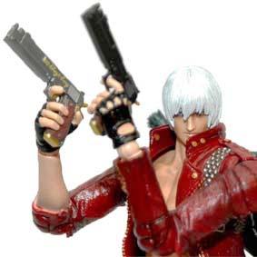Devil May Cry 3 Play Arts Kai Dante Square Enix Action Figure