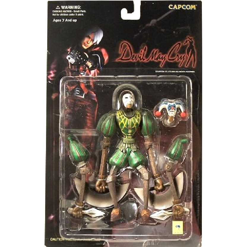 Devil May Cry Marionette Jester Green marca Capcom action figures