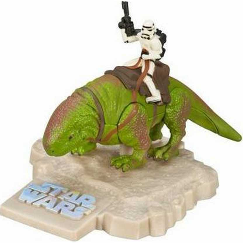 Dewback with Stormtrooper - Star Wars Hasbro Titanium series Die-Cast