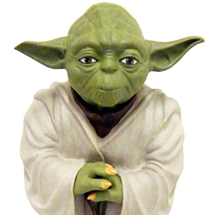 Diamond Select Yoda Bank : cofre Star Wars ( Guerra nas Estrelas )