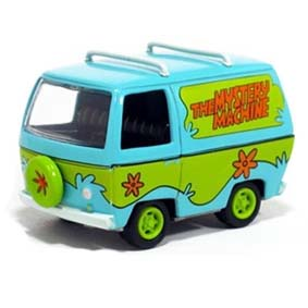 Die-Cast Model Kit The Mystery Machine Scooby-Doo! escala 1/64